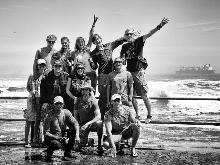 Gruppenbild Cape Town